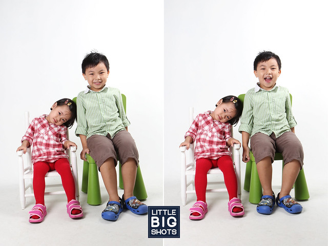 Two of a Kind | Family Studio Portraiture
