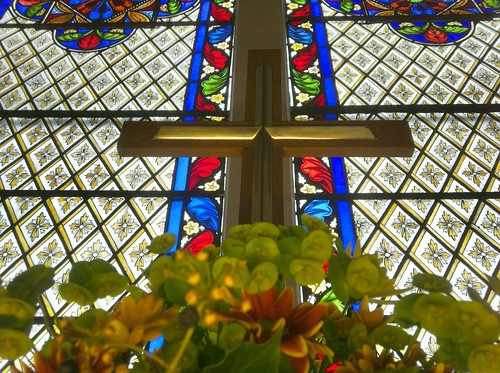 Easter Cross at St Mary's by Joe Houghton