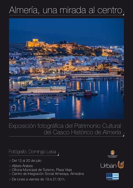 Cartel de la Exposición con imágenes del centro Histórico