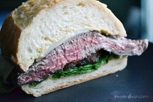 Caeser Steak Sandwich