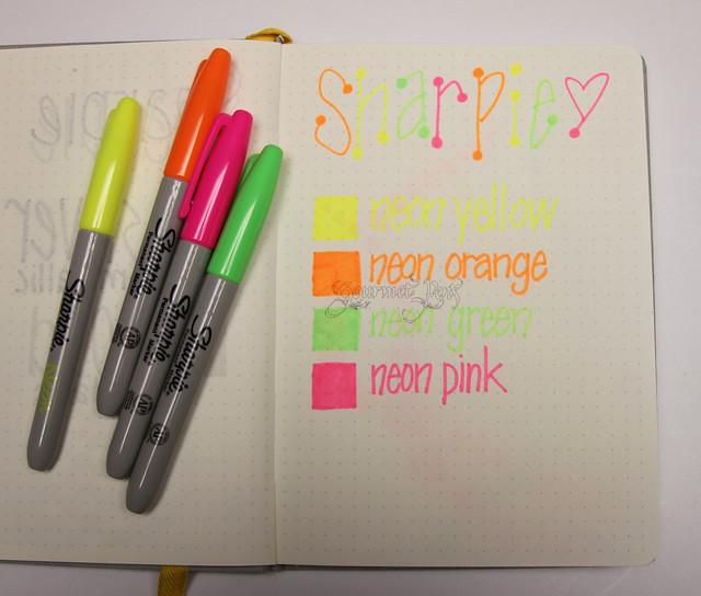 Gourmet Pens Shoplet Review Sharpie Premium Pen Neon