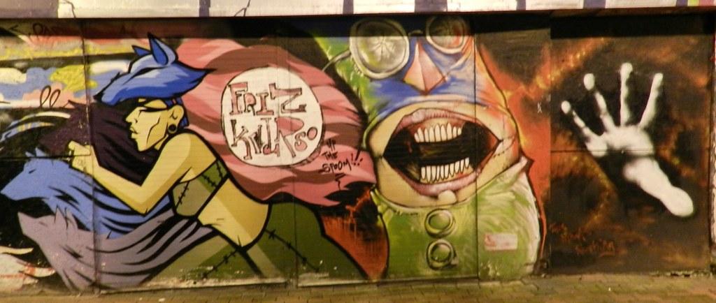 Graffitis Belfast Ulster irlanda del Norte 05