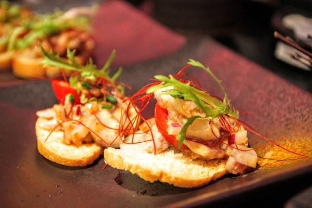 鱈魚肝脆餅