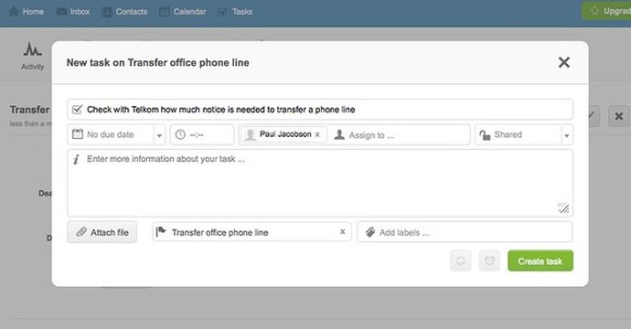 Transfer office phone line | Office move