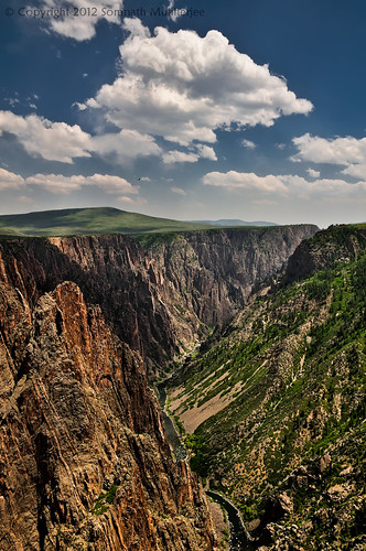 Gunnison River and Black Canyon | Black Canyon of the Gunnison National Park, CO | May 2012 by Somnath Mukherjee Photoghaphy