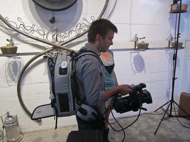 Glenn, mobile broadcaster