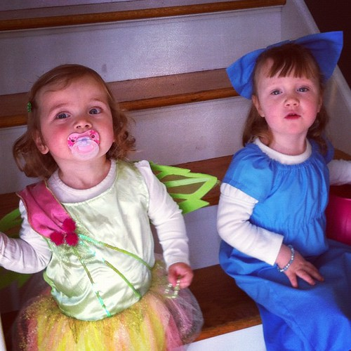 Wendy Bird and Tinkerbell