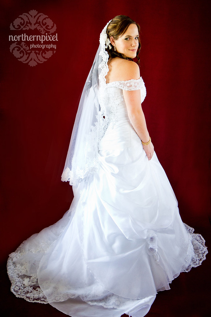 Wedding Dress - Bridal Session in Prince George BC