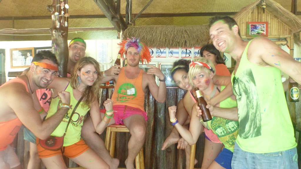 Breakfast Of Champions, Full Moon Party- Koh Pha Ngan, Thailand