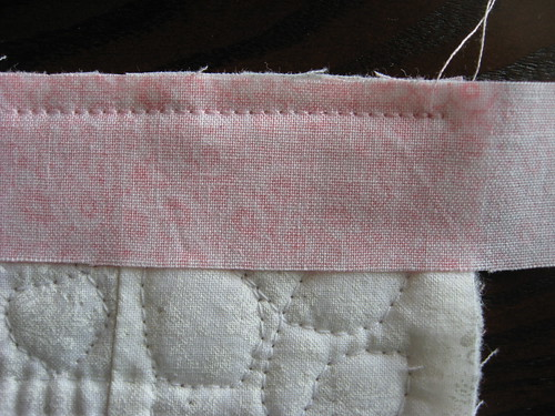 Binding with Mitered Corners 2