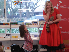 Melanie Poppins at Hornby Library