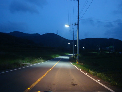 road in Gijang by Jens-Olaf
