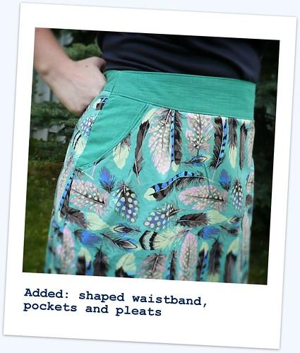 Feather-Light Meringue Skirt