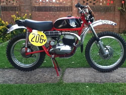 Ivor Smart's ex factory Bultaco 175cc Matador 1970 | Speed Track Tales