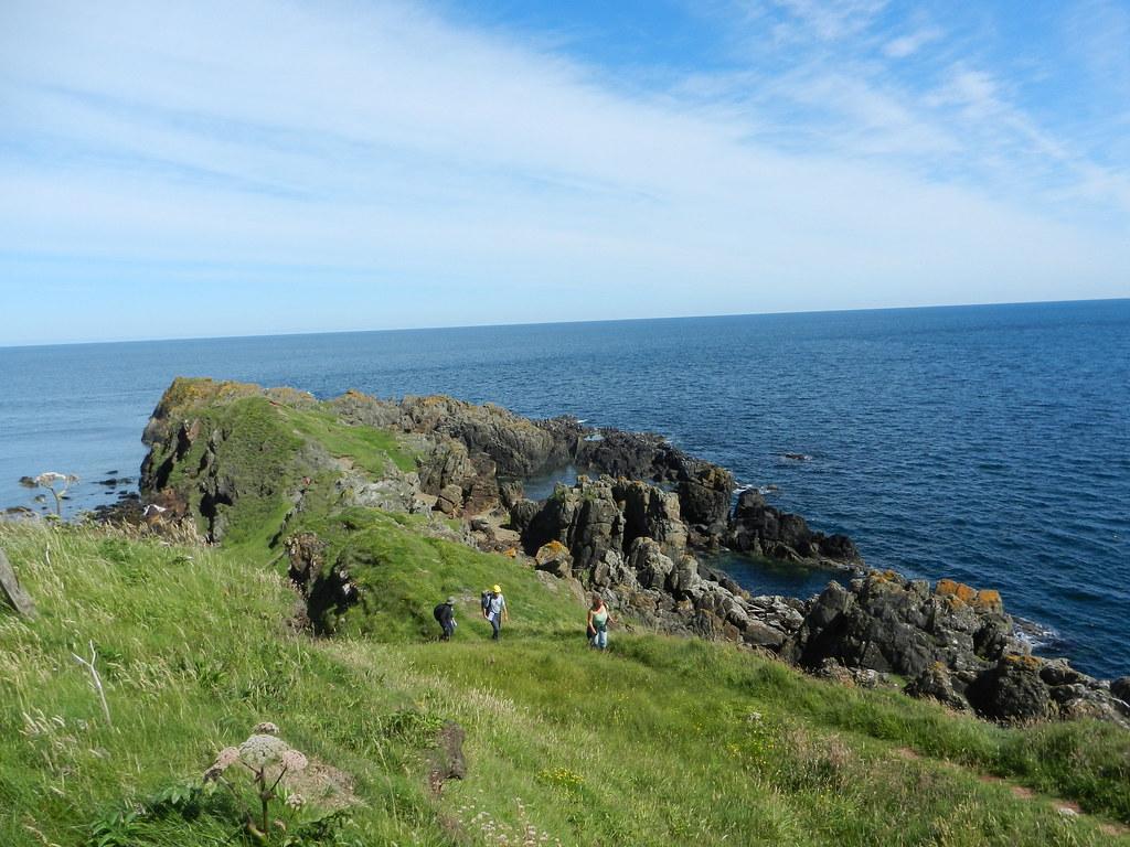 Walking up the Highland Boundary Fault