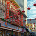 Streets of Chinatown in San Francisco