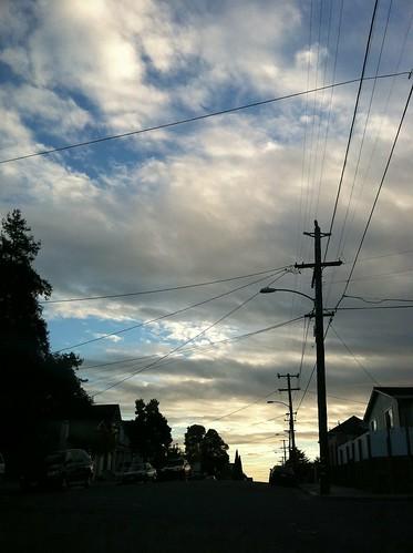 Sky less east Oakland