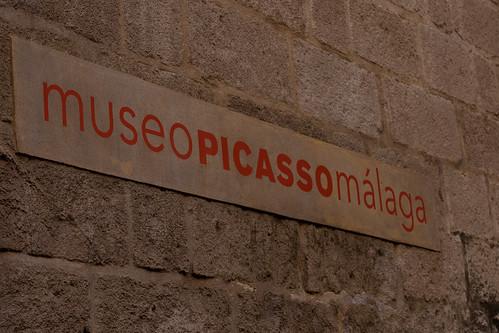 Fachada Museo Picasso de Málaga