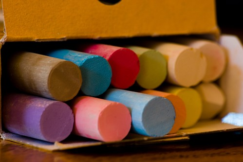 Colour chalks -  Francis Bourgouin