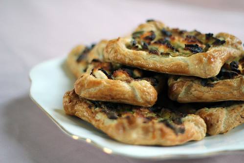 Leek and Goats cheese pastry (6/6)
