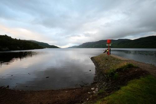 Loch Ness på kvelden