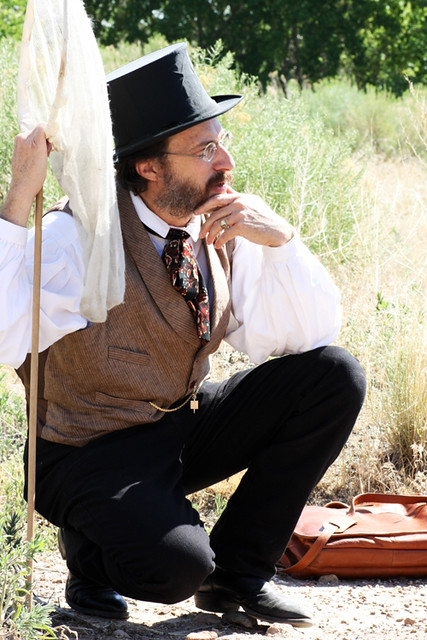 Victorian naturalist Professor J. Phineas Michealson