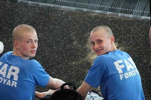 Óli og Alvi á NMU 2012