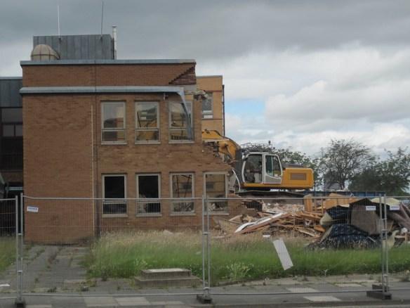 Eston Town Hall, Demolition