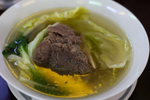 Bulalo at Rose & Grace Restaurant