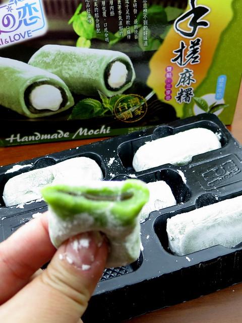 Yuki & Love Homemade Mochi green tea flavor-001