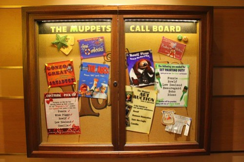 Muppets Adventure Game Call Board clues