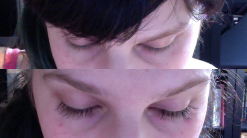 Before & After Lashes