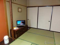 Traditional Tatami room in Japan