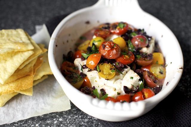 mediterranean baked feta with tomatoes – smitten kitchen