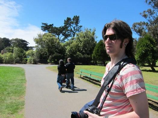 Taylor in Golden Gate Park