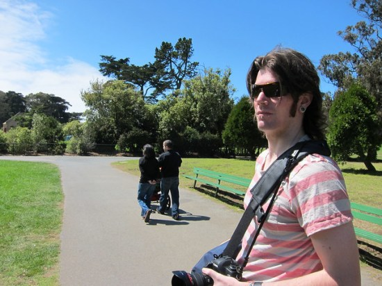 Taylor in Golden Gate Park