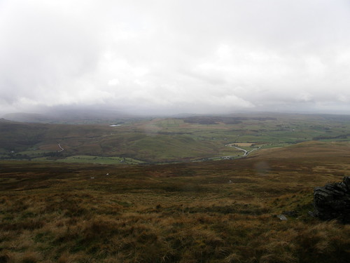 A view (of sorts) over the Eden Valley