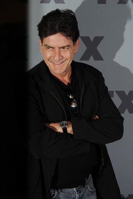 Charlie Sheen / Photo by  Joella Marano – Creative Commons License