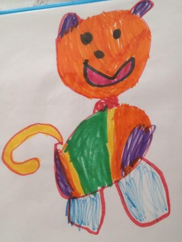 Dibujo infantil hecho realidad