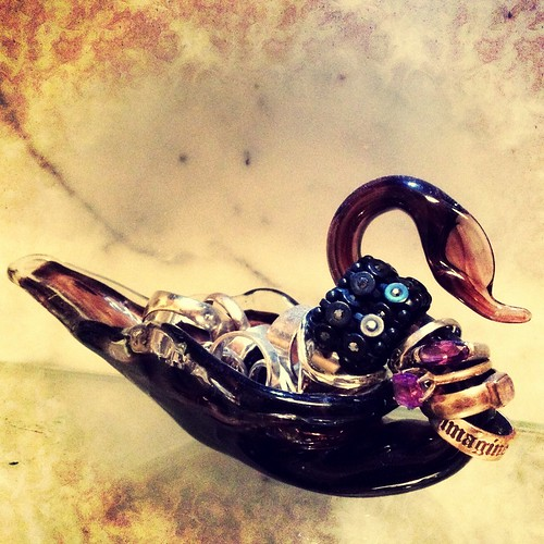 Day 127 of Project 365: Glass Swan
