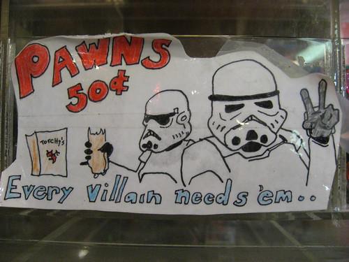 Pawns: Every villain needs 'em...