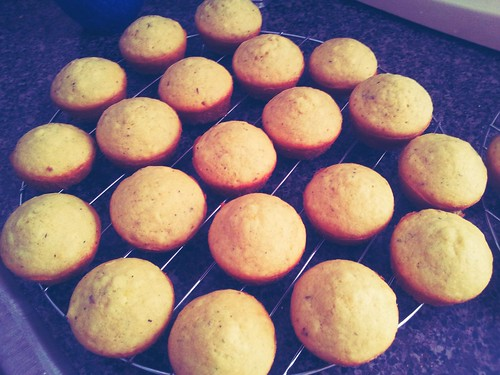 Muffins without topping