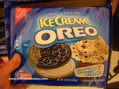 Ice Cream Oreo Cookies n' Creme