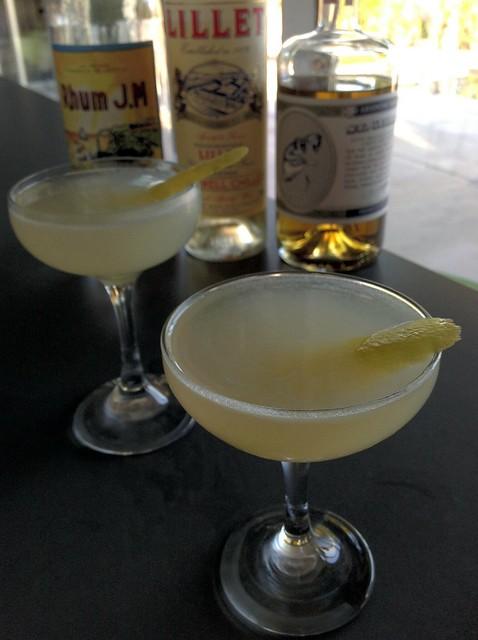 Paddington (David Slape): rhum agricole, Lillet, grapefruit & lemon, Seville orange marmalade, St. George absinthe