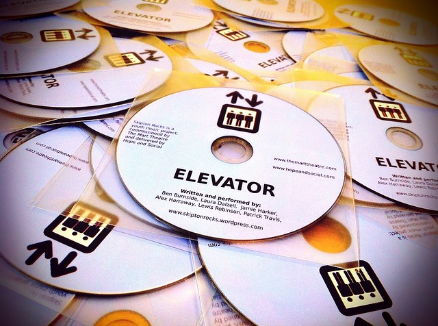 The CDs have arrived!!! Elevator - by #skiptonrocks