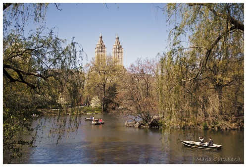 New York - Central Park Lake