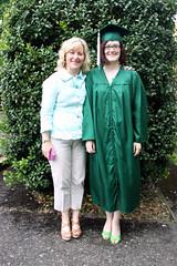 Anne Stewart's graduation at University of Oregon