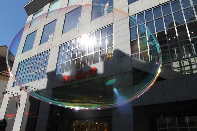 Giant Soap Bubble