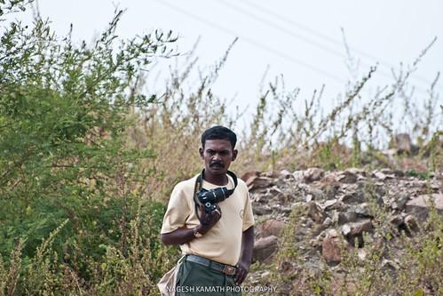 Virupaksha the naturalist at JLR