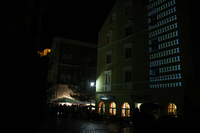 mayer+empl . sh . interactive video mapping performance . passau . 2012